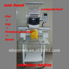 One head embroidery machine with better price and shorter delivery time