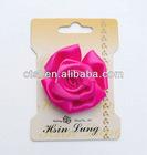 Pink Flowers Decor for Hat Dress Suit Shoes
