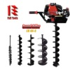 52cc Earth Auger 3hp with different auger bit spec