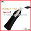 Portable eGo leather lanyards fine ego tank sling
