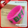 1 inch wide silicone wristbands fashion gifts
