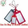 silicone rubber luggage tag