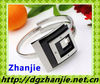 12511 black elastic stainless steel bracelet