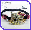 2012 Chrismas Promotion Hello Kitty Shamballa Crystal Bracelet