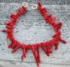 coral necklace,fashion necklace