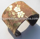 Golden Flower Bangle
