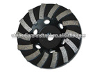 Excellent effect wave turbo diamond cup grinding wheel