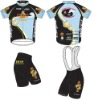 Race Fit Cycling Bike Jersey and Bib Shorts Cool Dry CWTS02