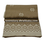 2012 Ladies' Acrylic Thick feel Knitted winter scarf