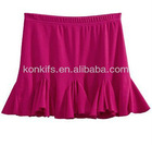 Casual Sweet skirts with cotton fabric