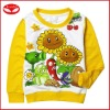 Wholesale children clothing,no hood sweatshirt