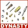 golden anodized aluminum cnc machining products