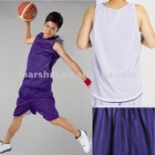 Reversible mesh basketball jersey(singlet ), wholesale plain sportwear ,100%ployester
