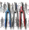 700C fixed gear bike fork,many color,steel or cr-mo
