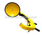 mild steel yellow car tyre clamp locks
