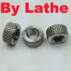 Knurled nut stainless steel nut by CNC