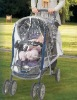 2012 safety baby stroller plastic rain cover