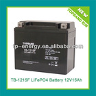 TB-1215F High quality lithium battery 12v 15ah Made in China(2 years warranty)
