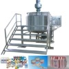 1000L Stainless Steel Blending Tank with Scraped Agitator