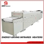 electric heating system infrared tunnel dryer