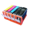 Compatible Ink Cartridge for Canon BCI 5BK/6BK/CLI 8BK(for Canon IP 4200/IP 4300/IP 5200/IP 5300/IP 4500)