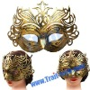 Golden Princess Crown Style Mask For The Coming Halloween