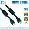 HDMI Cable Nylon Braid, HDMI Cable Ferrite Core, Good Quality HDMI Cable, Support 3D 1080P