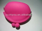 Hot Promotional Silicone purses for coins bags various colors