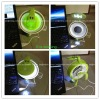 Novelty!!!, Mini USB table led LAMP with FAN and MIRROR