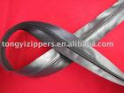 5# leather zipper