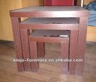 end table modern living room furniture fuzhou wood furniture manufacture PU cover Melamine cover
