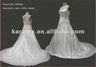 2012 NEW STYLE SLEEVELESS WEDDING DRESS
