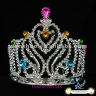 Cheap Tall Pageant Crown Tiara