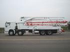 concrete pump truck 48m 5-boom