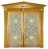 new designed copper door for buildings