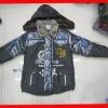 kids boys news designer winter jacket with fur wool