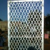 BARBED WIRE MESH WITH CROSS RAZOR