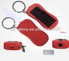 Solar Projector Flashlight Keychain torch