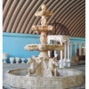 horse sculpture water fountain