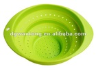 Silicone foldable vegetable washing basket/ colander