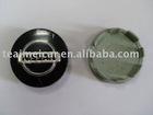 Chrome plastic car wheel cover center caps with car logo