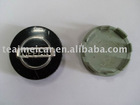 Chrome plastic car wheel cover center caps with car logo
