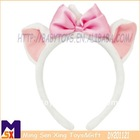 super soft fashionable bowtie plush marie aristocat hairband