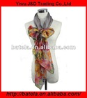 2012 Cheap Polyester Printed imitated silk Scarf With High Quality-JD 210