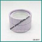 Cheap Round Purple Paper Gift Box