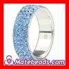 Wholesale 925 Sterling Silver Ring With Crystal