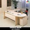 L shape melamine office desk