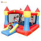 Super Inflatable castle-9217 Super Castle Bouncer with Sun Roof
