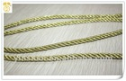 gold metallic cord/rope