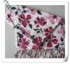 Warm acrylic pashmina scarf and shawl